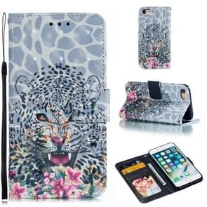Leather Protective Case For iPhone 8 & 7(Leopard)
