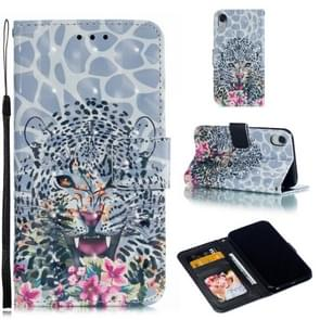 Leather Protective Case For iPhone XR(Leopard)