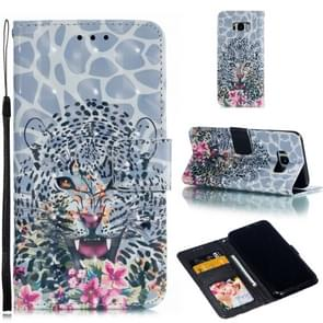 Leather Protective Case For Galaxy S8 Plus(Leopard)