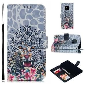 Leather Protective Case For Huawei Mate 20 Pro(Leopard)