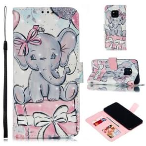 Leather Protective Case For Huawei Mate 20 Pro(Elephant Gift)