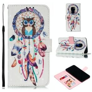 Leather Protective Case For Huawei Mate 20(White Windbell)