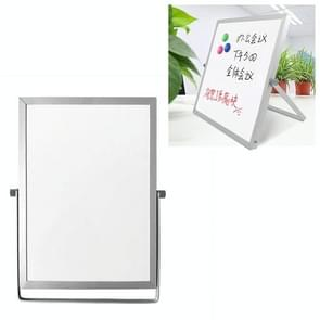 Portable Magnetic Desktop Small Whiteboard Message Writing Board  Size: 18cm x 24cm