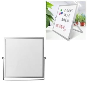 Portable Magnetic Desktop Small Whiteboard Message Writing Board  Grootte: 25cm x 25cm