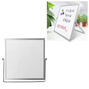 Portable Magnetic Desktop Small Whiteboard Message Writing Board  Grootte: 30cm x 30cm