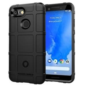 Full Coverage Shockproof TPU Case for Google Pixel 3(Black)