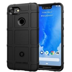 Full Coverage Shockproof TPU Case for Google Pixel 3 XL(Black)
