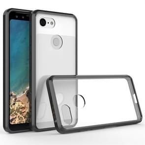 Scratchproof TPU + Acrylic Protective Case for Google Pixel 3 (Black)