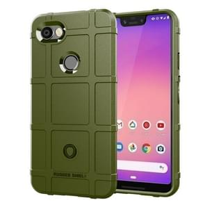 Full Coverage Shockproof TPU Case for Google Pixel 3 Lite XL (Army Green)