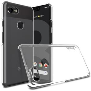 IMAK Wing II Wear-resisting Crystal Pro Protective Case for Google Pixel 3, with Screen Sticker (Transparent)