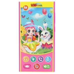 MoFun 2601A Little Girl and Rabbit Multifunctional Dry Battery Powered Children Vocal Music Mobile Phone