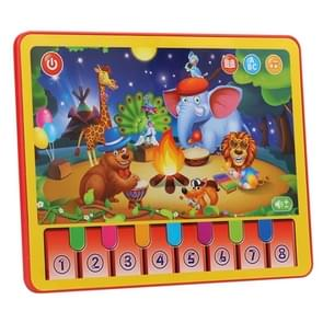 MoFun 2602A Animal Concert Multifunctional Dry Battery Powered Children Vocal Music Tablet