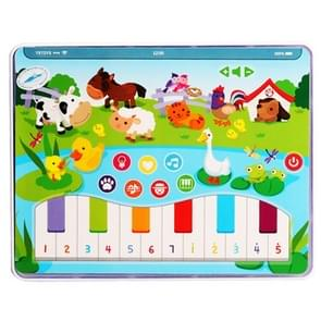 MoFun 2602B Farm Animals Multifunctional Dry Battery Powered Children Vocal Music Tablet