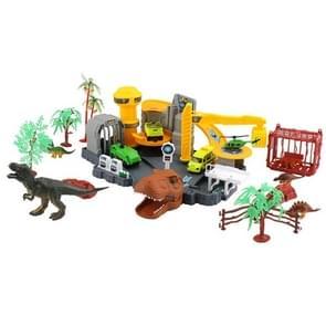 MoFun 9918 DIY Variety Shape Dinosaur Institute Simulation Dinosaur Model Toys Set