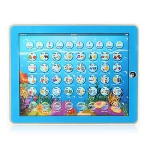 MoFun 2921P 2D Multifunctional Children Learning Machine English/Russian Switchable(Blue)