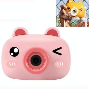 JJR/C V09 Cartoon Animal Shape Bubble Maker Machine Speelgoed (Roze)