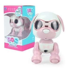 MoFun 135 Smart Robot Pet Dog Touch Sensing Electric Toy (Pink)