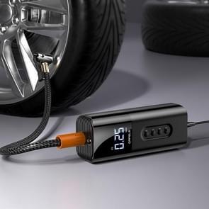 cafele Zuntu Car Portable Air Pump 12V Universal Intelligent Digital Display Electric Pump (Plug-in Type)