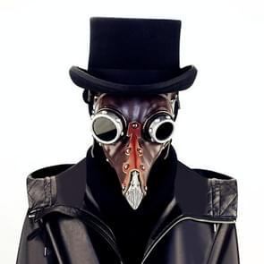 FHG103BN Halloween Snavel Vorm Masker Punk Style Mask Mask