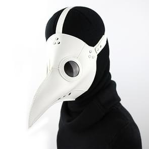 HG065 Halloween Dress Up Rekwisieten Snavel Vorm Masker  Grootte: 30 x 25cm (Wit)