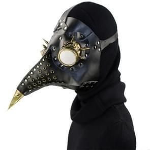 HG079 Halloween Barbed Glazen Geperforeerde Snavel Vorm Masker