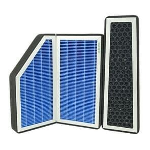Voor Audi A6L/C7/S7/Q5 C7 3 in 1 auto airconditioning vervangende filter zeef