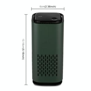 USB Huishouden Negatieve Ion sterilisatie Luchtreiniger (Groen)