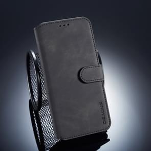 CGI MING Retro olie kant horizontale Flip Case voor Huawei Mate 20 Lite  met houder & kaartsleuven & portemonnee (zwart)