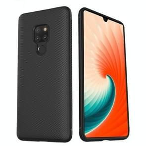 lenuo Leshen Series Stripe Texture TPU Case for Huawei Mate 20 (Black)