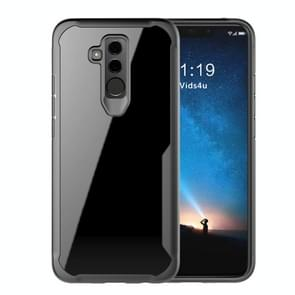 Transparent PC + TPU Full Coverage Shockproof Protective Case for Huawei Mate 20 Lite (Maimang 7) (Black)