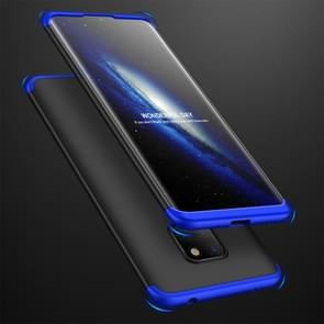 GKK Three Stage Splicing Full Coverage PC Case for Huawei Mate 20 (Black Blue)