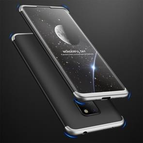 GKK Three Stage Splicing Full Coverage PC Case for Huawei Mate 20 (Black Silver)