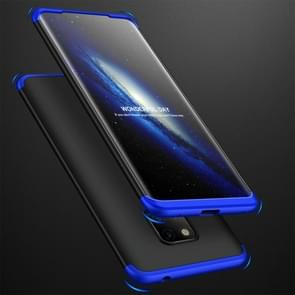 GKK Three Stage Splicing Full Coverage PC Case for Huawei Mate 20 Pro (Black Blue)
