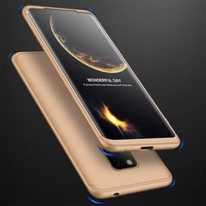 GKK Three Stage Splicing Full Coverage PC Case for Huawei Mate 20 Pro (Gold)
