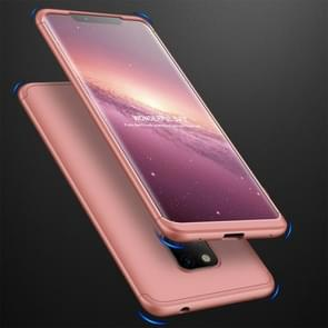 GKK Three Stage Splicing Full Coverage PC Case for Huawei Mate 20 Pro (Rose Gold)