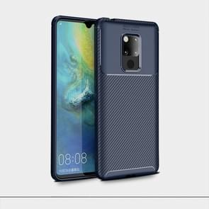 Beetles Series Full Coverage TPU Protective Cover Case for Huawei Mate 20 X(Dark Blue)