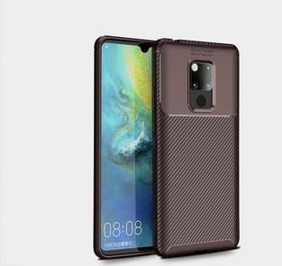 Beetles Series Full Coverage TPU Protective Cover Case for Huawei Mate 20 X(Brown)