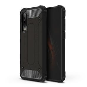 Magic Armor TPU + PC combinatie Case voor Huawei P30 (zwart)