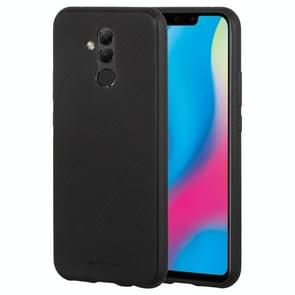 MERCURY GOOSPERY stijl LUX serie schokbestendige zachte TPU Case voor Huawei Mate 20 Lite(Black)