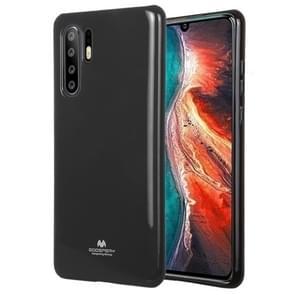 MERCURY GOOSPERY PEARL JELLY TPU anti-val en kras geval voor Huawei P30 Pro (zwart)