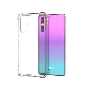 Shockproof Transparent TPU Soft Case for Huawei P30 Pro (Transparent)