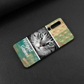 Cat Painted Pattern Soft TPU Case for Huawei P30