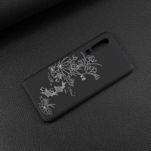 Lotus vijver geschilderd patroon zachte TPU geval voor Huawei P30