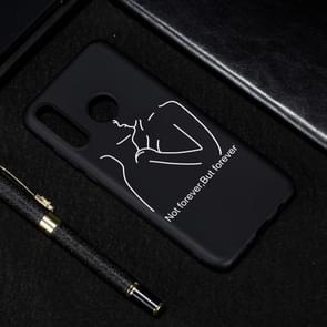 Afstand geschilderde patroon zachte TPU geval voor Huawei P30 Lite