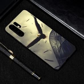 Eagle geschilderd patroon zachte TPU geval voor Huawei P30 Pro