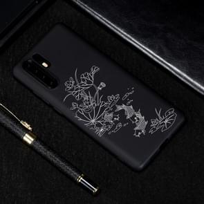 Lotus vijver geschilderd patroon zachte TPU geval voor Huawei P30 Pro