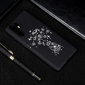 Wens fles geschilderd patroon zachte TPU geval voor Huawei P30 Pro