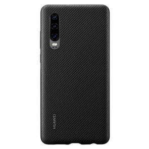 Original Huawei Shockproof PU Protective Case for Huawei P30 (Black)