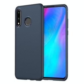 lenuo Leshen Series Stripe Texture TPU Case for Huawei P30 Lite (Blue)