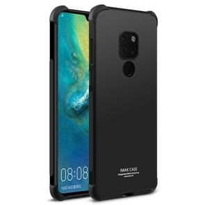 IMAK All-inclusive Shockproof Airbag TPU Case for Huawei Mate 20, with Screen Protector (Black)